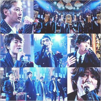 FNS歌謡祭2015に出演したSMAP