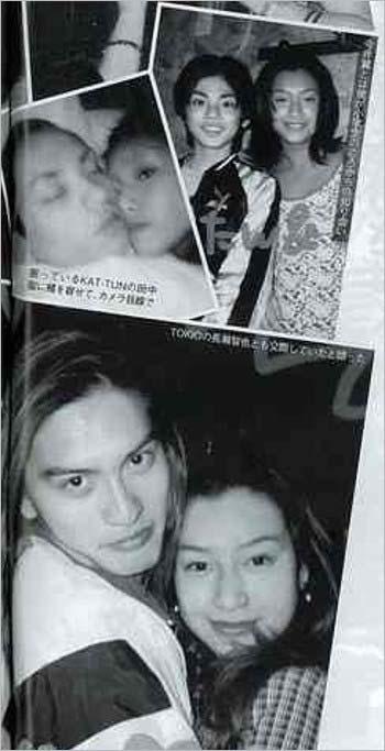 TOKIOの長瀬智也、KAT-TUNの田中聖、タッキー&翼の今井翼とAYAの流出写真