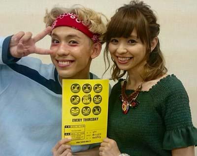 りゅうちぇる(比嘉龍二)と姉・比花知春のツーショット写真