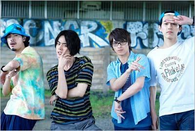 映画『キセキ ーあの日のソビトー』でグリーンボーイズのメンバーを演じる杉野遥亮さん、菅田将暉さん、横浜流星さん、成田凌さん