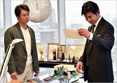 『IQ246~華麗なる事件簿~』第1話出演の石黒賢と織田裕二