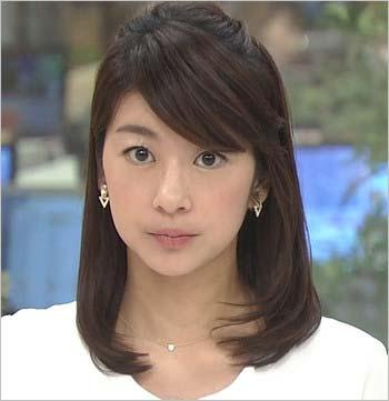 メイク後の生野陽子アナウンサー