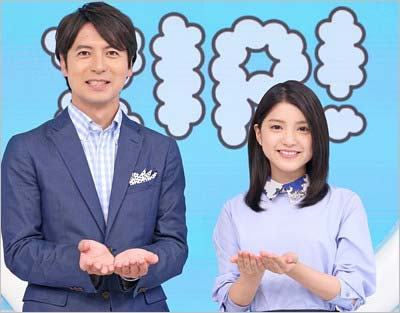 『ZIP!』総合司会者の桝太一アナウンサー、川島海荷