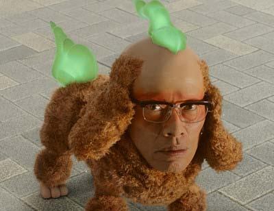 遠藤憲一が『妖怪ウオッチ』で演じたじんめん犬