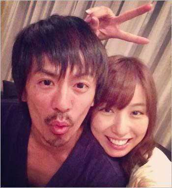 ネットに流出した森田剛と元彼女・美雪ありすのプライベートツーショット画像