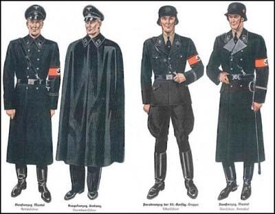 ナチス・ドイツ親衛隊(SS)の軍服