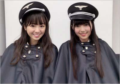 欅坂46メンバーが着用のナチス・ドイツの軍服を思わせる衣装