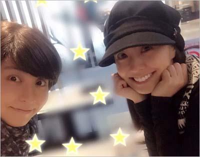 小林麻央と小林麻耶のツーショット写真