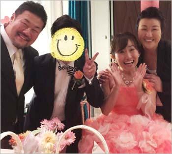キンタロー。の結婚式で撮影した写真