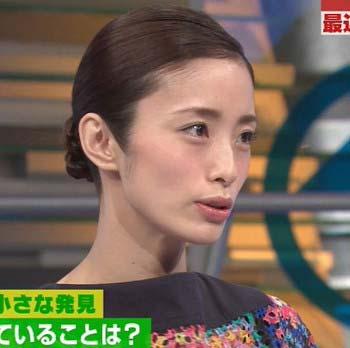 12月3日放送の『SmaSTATION!!(スマステ)』出演時の上戸彩の横顔