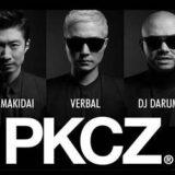 PKCZ®のMAKIDAI、VERBAL、DJ・DARUMA