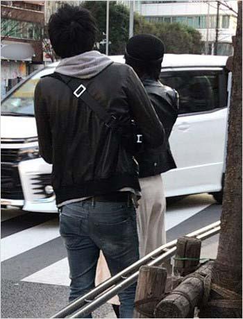 週刊ポストが撮影した浅田舞と渡辺翔史のツーショット写真