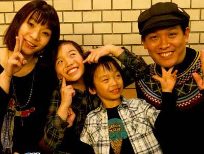 COWCOWの善しと家族の写真