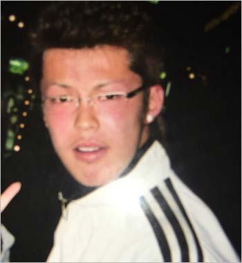 清水良太郎が18歳の頃の写真