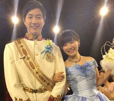 江宏傑選手と福原愛選手がディズニーアンバサダーホテルで行った披露宴の写真