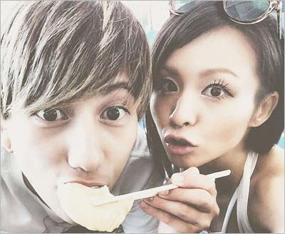 Nosukeとmisonoのツーショット