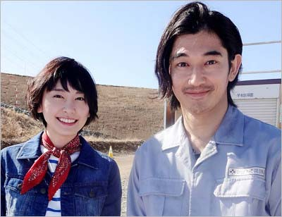 映画『ミックス。』でW主演の新垣結衣と瑛太