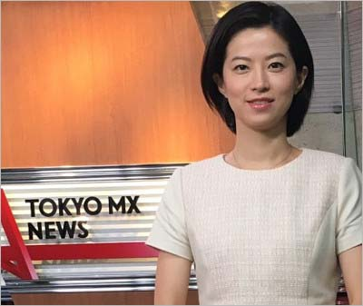 『TOKYO MX NEWS』出演の石井希和