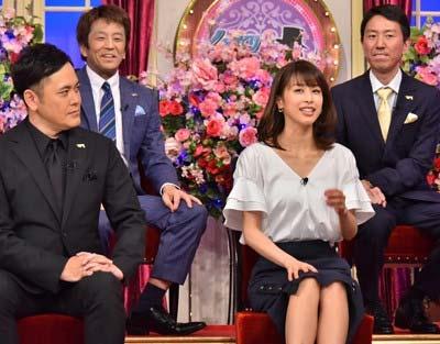 『しゃべくり007』で他局の番組解禁をした加藤綾子の写真
