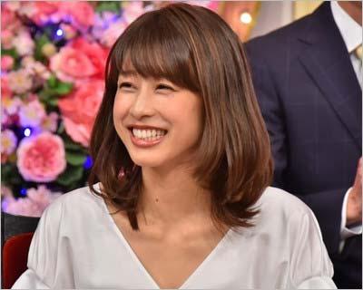 『しゃべくり007』で他局の番組解禁、笑顔を見せる加藤綾子の写真