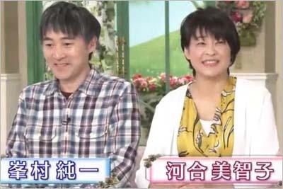 徹子の部屋で共演した河合美智子と夫・峯村純一