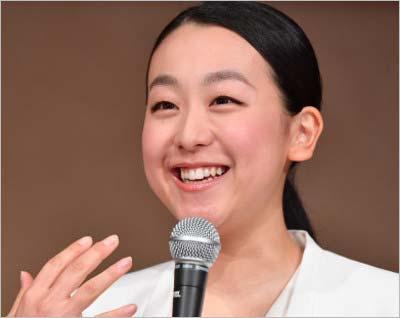 12日に東京・港区芝公園の東京プリンスホテルで引退会見をした浅田真央