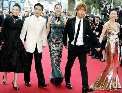 トニー・レオン主演の香港映画『2046』で、カンヌ国際映画祭のレッドカーペットを歩いた元SMAP・木村拓哉