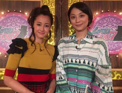 『しゃべくり007』に出演した沢尻エリカと小池栄子