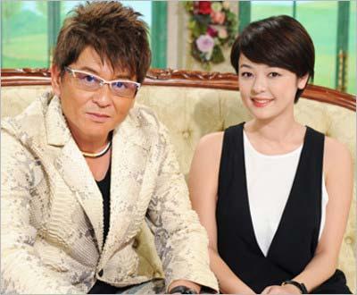 哀川翔と長女・MINAMIが『徹子の部屋』に出演した際のツーショット
