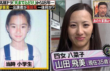 『天までとどけ』四女・八菜子役の山田飛美の現在