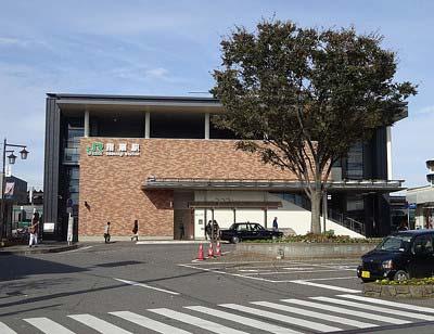 埼玉県・川越線の指扇駅の外観