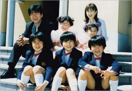 ドラマ『大好き!五つ子』出演当時の出演者たち