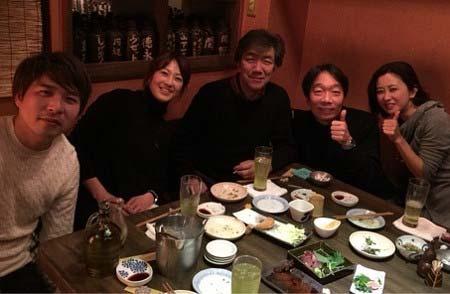 森尾由美がブログに投稿していた『大好き!五つ子』出演の見栄張らとの写真