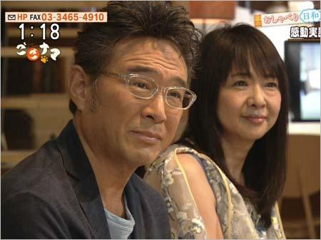 2017年7月10日放送『ごごナマ』出演の船越英一郎&美保純