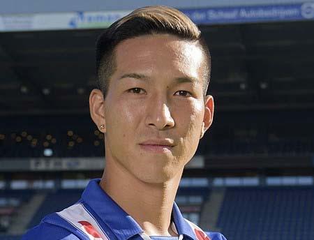 サッカー日本代表の小林祐希選手