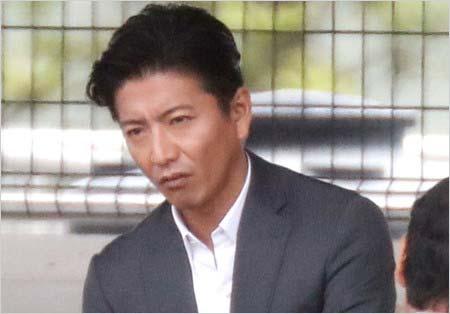 映画『検察側の罪人』撮影現場の木村拓哉