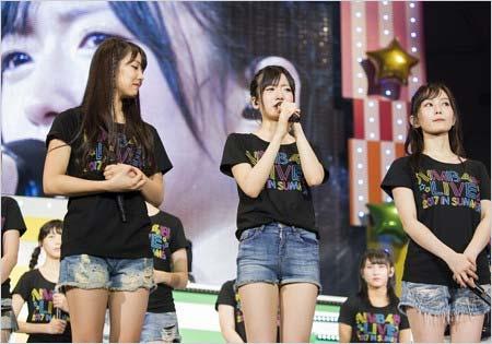『NMB48 LIVE 2017 in Summer ~サササ サイコー』のステージ上で、号泣しながら結婚宣言を謝罪した須藤凜々花