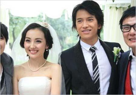 阿部力と妻・史可の北京挙式