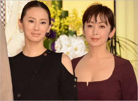 『西郷どん』出演者発表会の北川景子&斉藤由貴