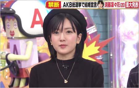 アッコにおまかせ!で結婚宣言した須藤凜々花