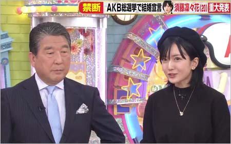 アッコにおまかせ!に出演の徳光和夫&須藤凜々花