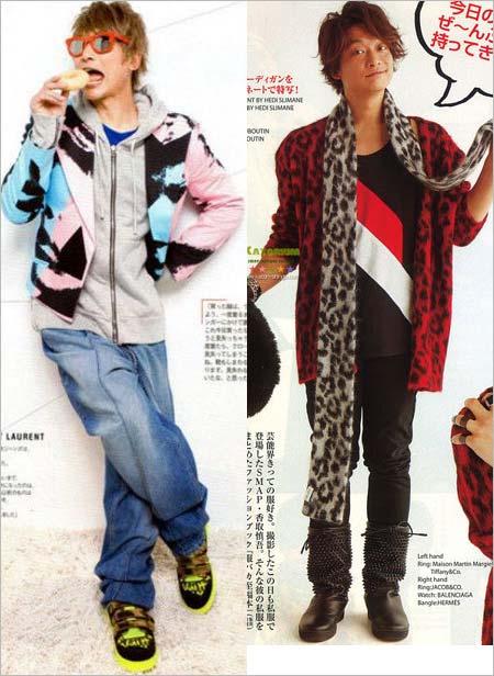 香取慎吾が雑誌で紹介した私服コレクション