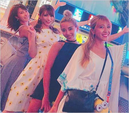 寿るいと友達in大阪
