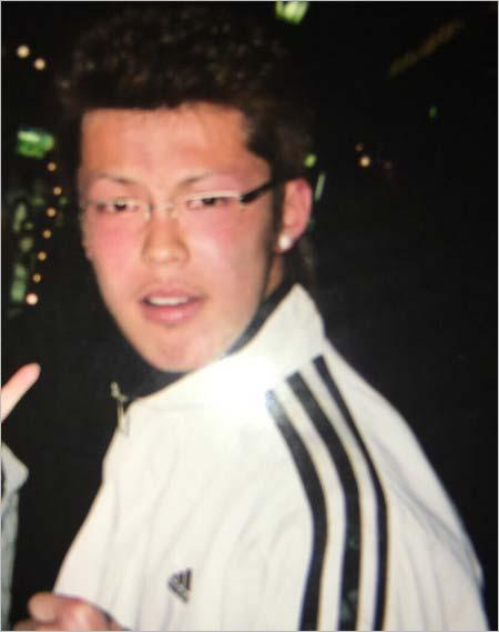 清水良太郎が18歳の頃
