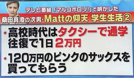Mattのプライベート