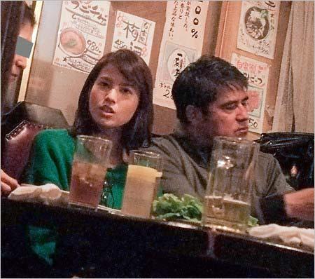 永島昭浩と娘の永島優美