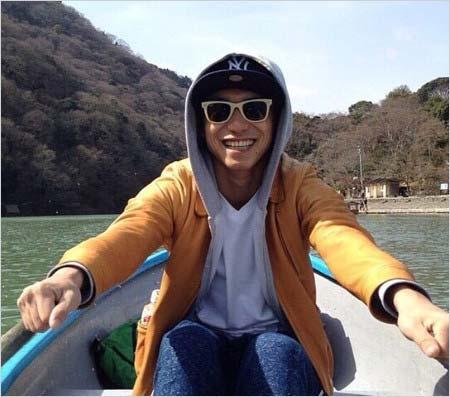 錦戸亮の流出プライベート写真(ボート)