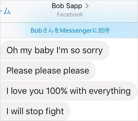 ボブ・サップの謝罪メール