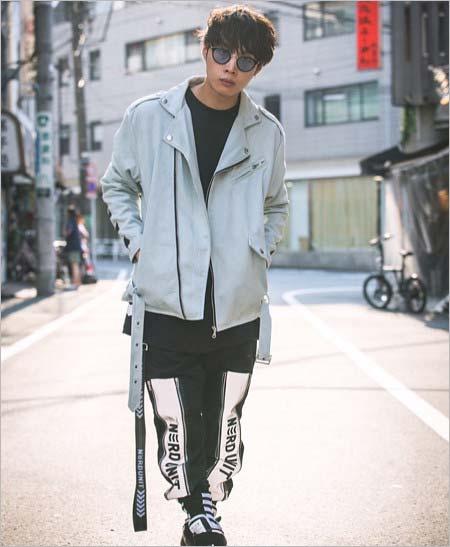 牧達弥のファッションスタイル
