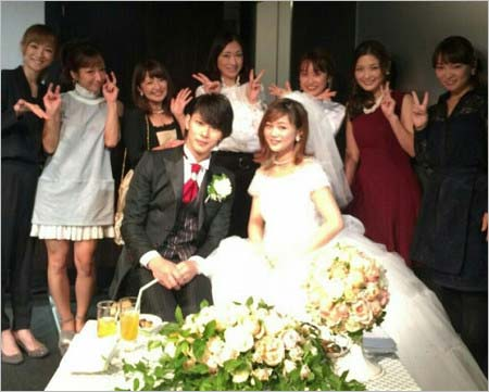 小谷嘉一&新垣里沙の結婚パーティーにモー娘。メンバーが出席